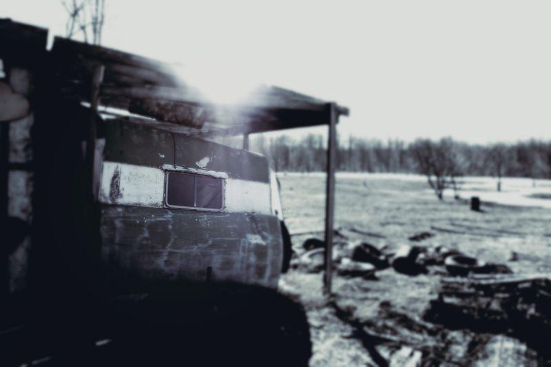 trailer, spring, decrepit, marcie vargas