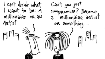 Millionaire-or-artist-how-about-both