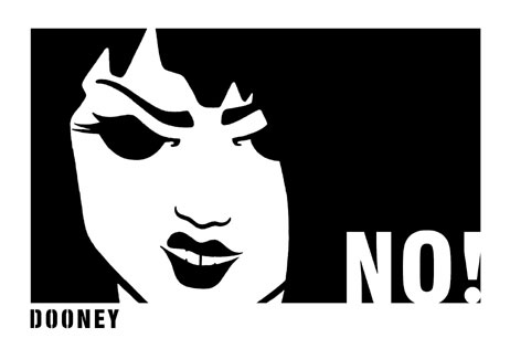 Hazel-Dooney-NO!-black