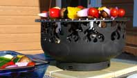 The Firebird Grill Sculptural Firebowl