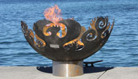 The Great Bowl O' Fire Recycled Steel Fire Pit