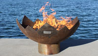 The Great Flaming Lotus Firebowl