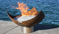 The King Isosceles Firebowl