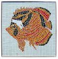 Lunula Tropical Fish Mosaic