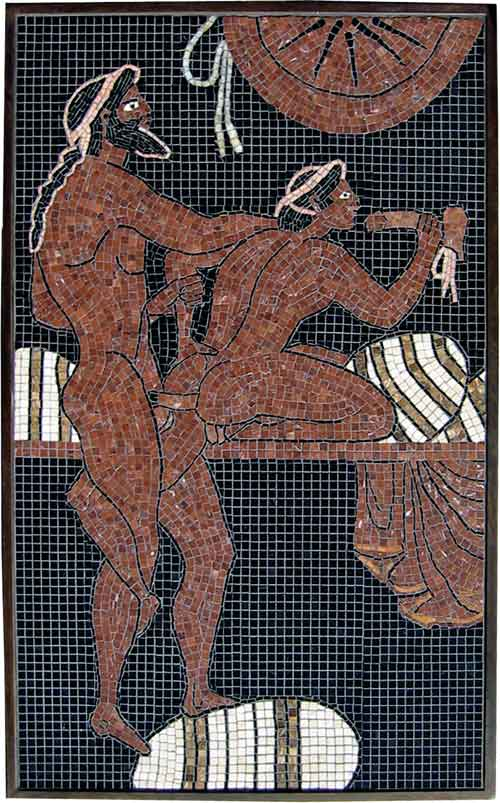 homoerotic art mosaic