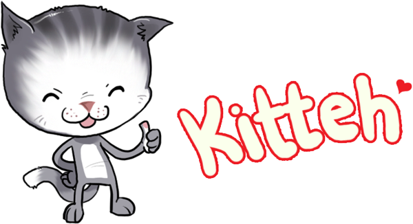 kitteh - a cute new emoticon design from emoodicon