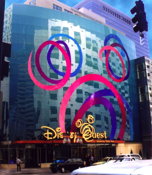 Disneyquest Chicago Mosaic Mural