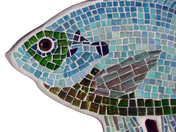 bluegill Gamefish glass Mosaic