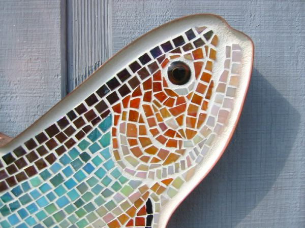 Brook Trout Glass Mosaic