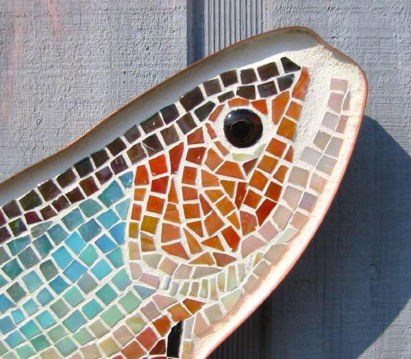 Brook Trout Glass Mosaic No. 2