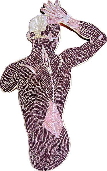 Anatomy Chart Marble Mosaic